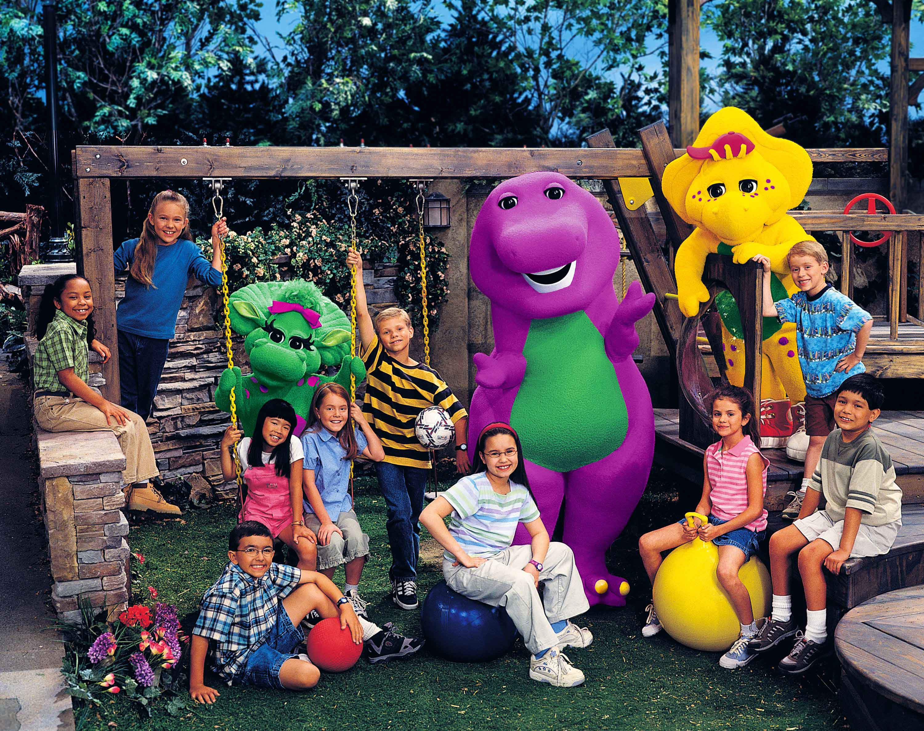 Barney And Friends Kids Viewing Gallery