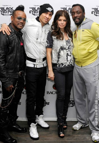 Gallery : Black Eyed Peas in pictures