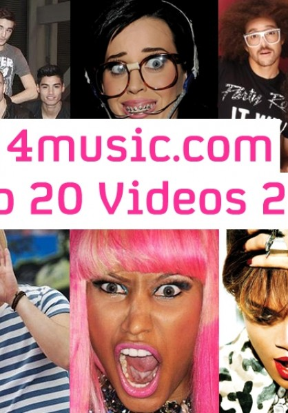 4music.com Top 20 Videos 2011 - part two