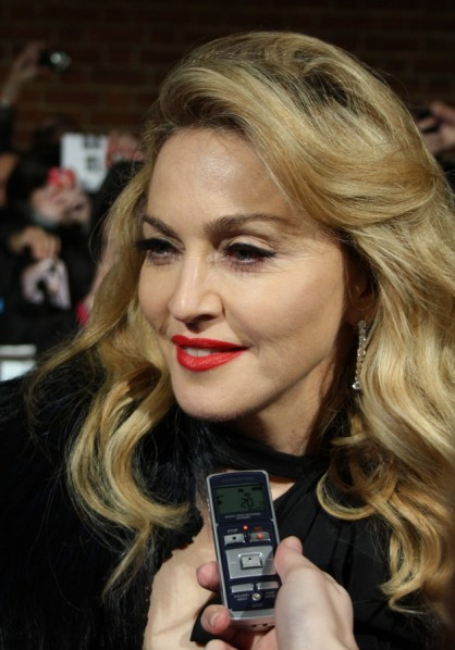 Madonna - UK W.E. Premiere 11 January 2012