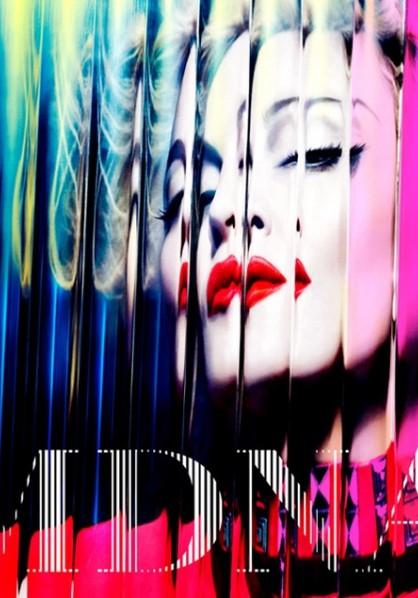 Madonna - MDNA cover art