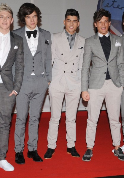 One direction BRITs 2012