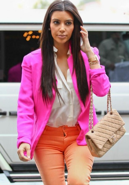 Kim Kardashian - Bang Showbiz - April 2012