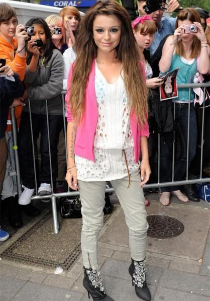 Cher Lloyd - Bang Showbiz - April 2012