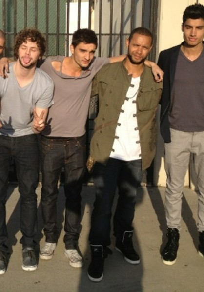 The Wanted wrap Chasing The Sun video shoot in US