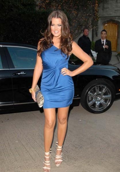 Khloe Kardashian Bang April 16 2012