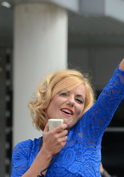 Geri Halliwell - Bang Showbiz - August 2012