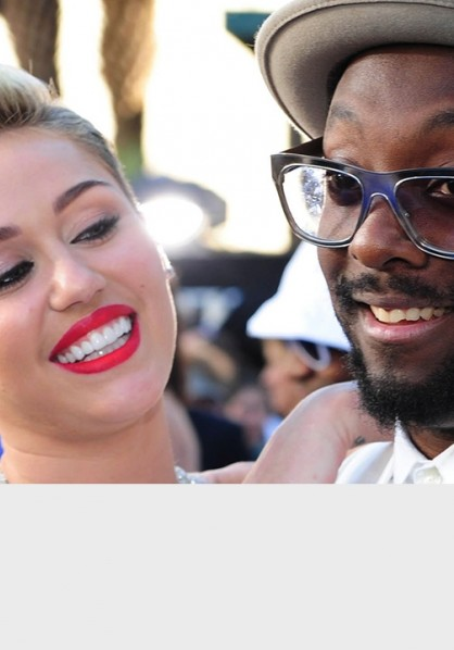Miley and will.i.am ukhot40 thumbnail