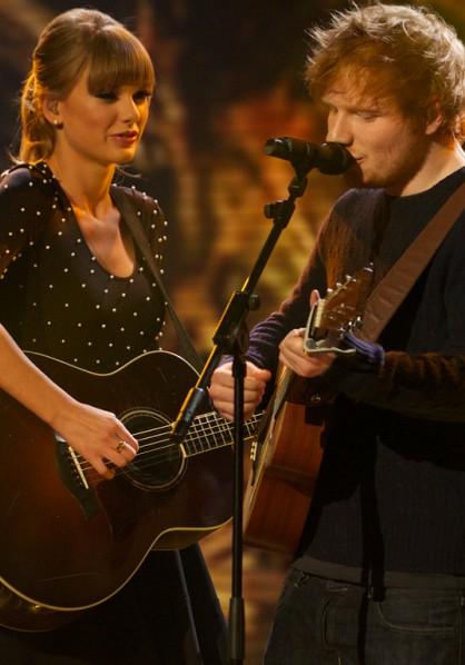 Cover Media - Taylor Swift and Ed Sheeran