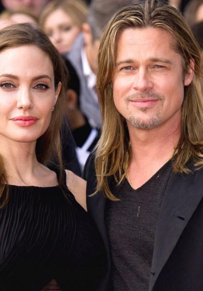 Cover Media - Angelina Jolie and Brad Pitt