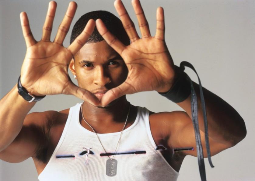 Usher Retro Press Pic