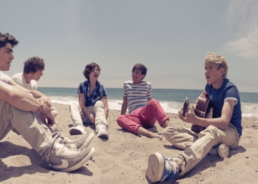 One Direction What Makes You Beautiful Press Shot