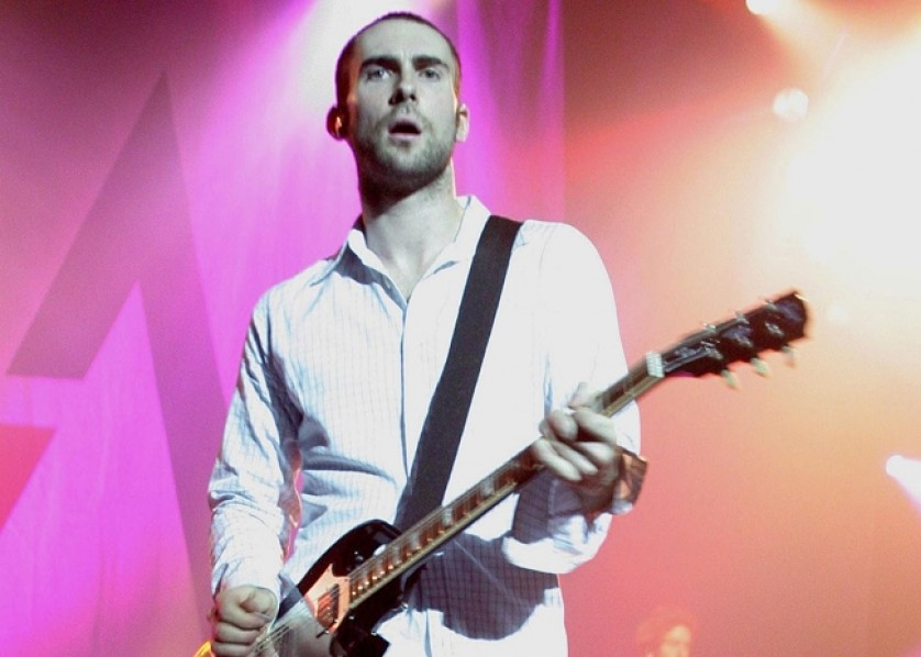 Adam Levine Maroon 5 Bang Showbiz