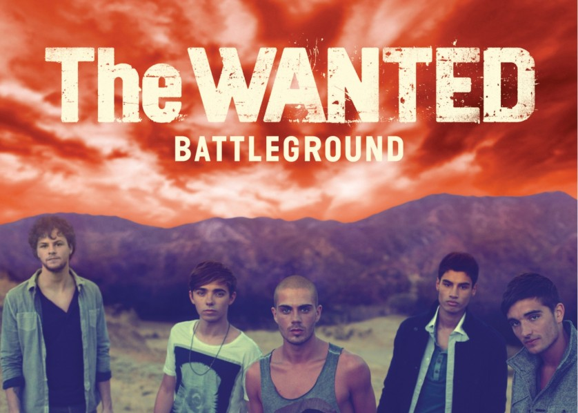 The Wanted Battleground Album Cover
