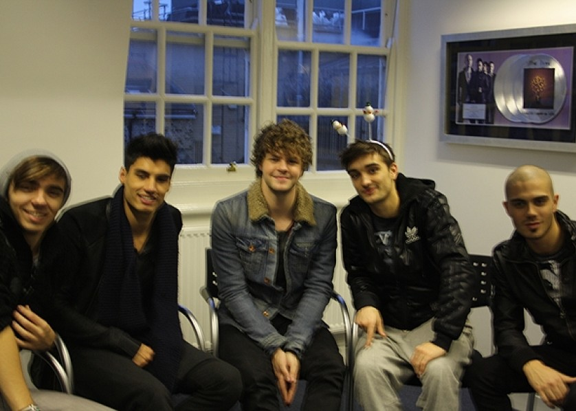 The Wanted 4Music Interview