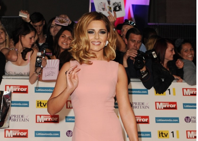 Cheryl Cole - Bang Showbiz - December 2011