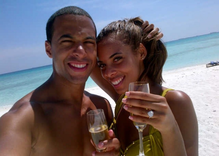 JLS Marvin Humes and The Saturdays Rochelle Wiseman get engaged