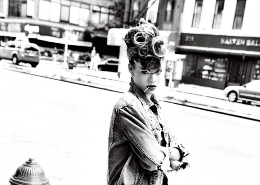 Rihanna - We Found Love - press shot 2011