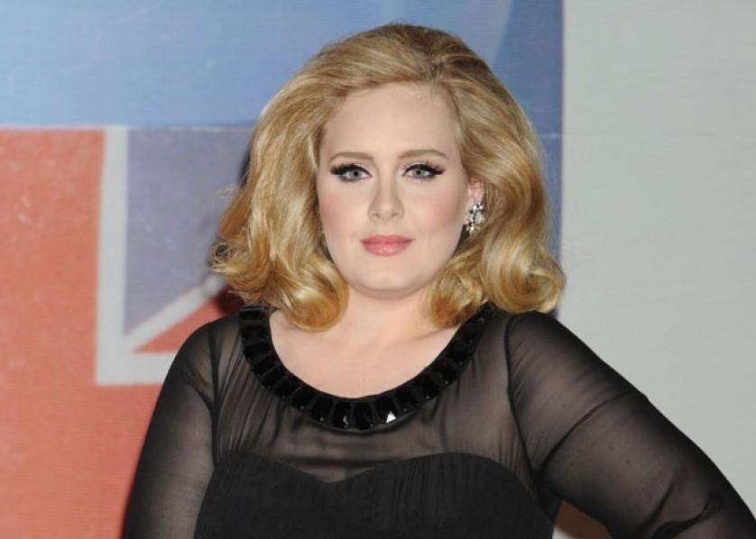 Adele BRITs 2012