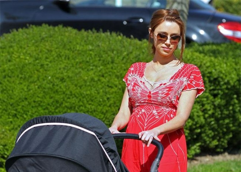 Una Healy mom mum Saturdays baby
