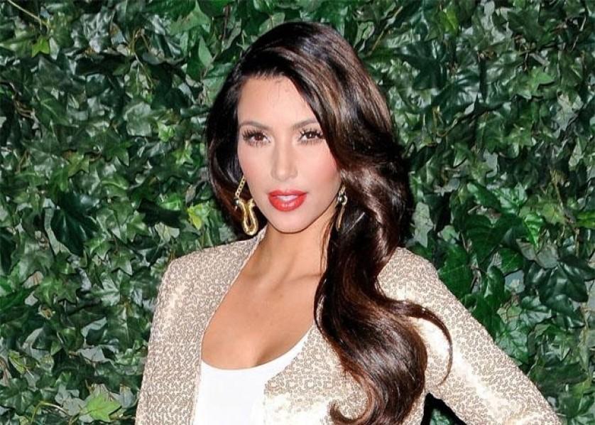 Kim Kardashian Bang April 2012