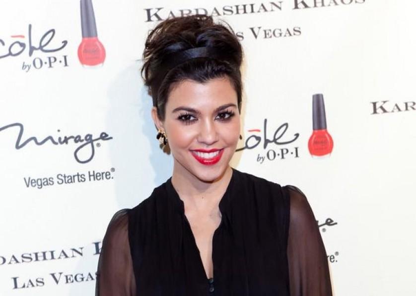 Kourtney Kardashian Bang 19th April 2012