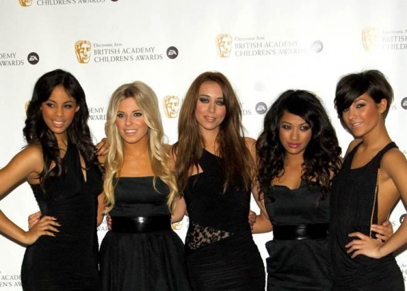 The Saturdays Band 23rd April 2012