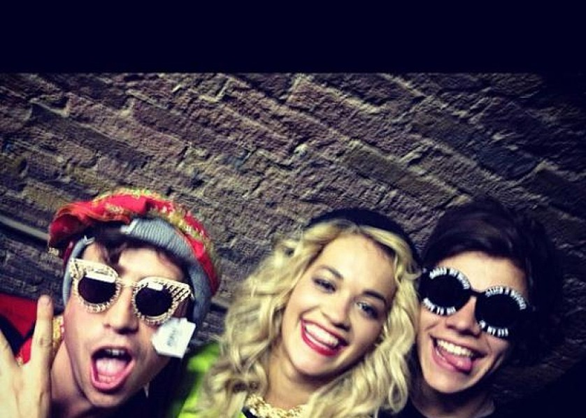 Gallery : Twitpics: Rita Ora out with Harry Styles