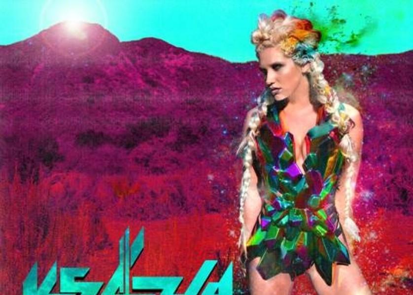 Kesha Ke$ha warrior cover art