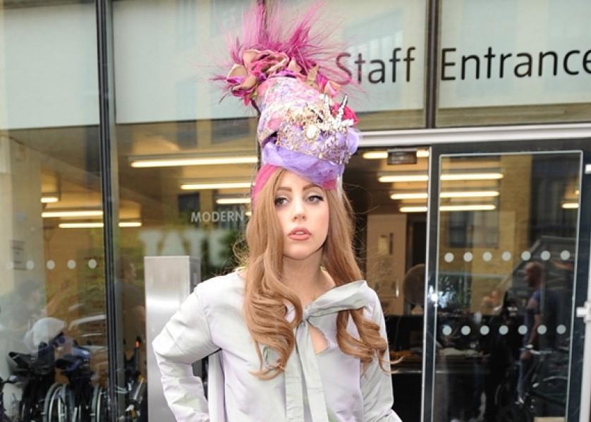 Lady Gaga - Bang Showbiz - October 2012