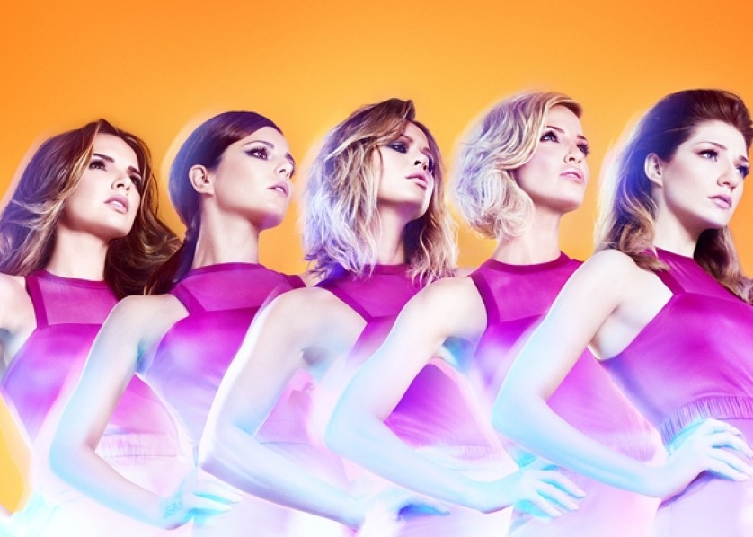 Girls Aloud single cover for front page