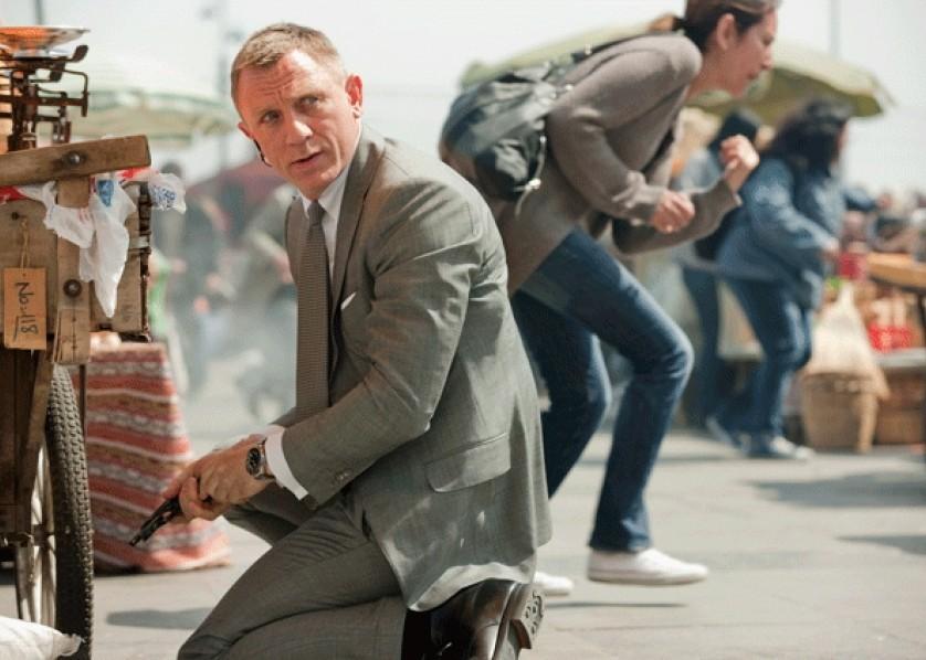 Skyfall still James Bond Daniel Craig