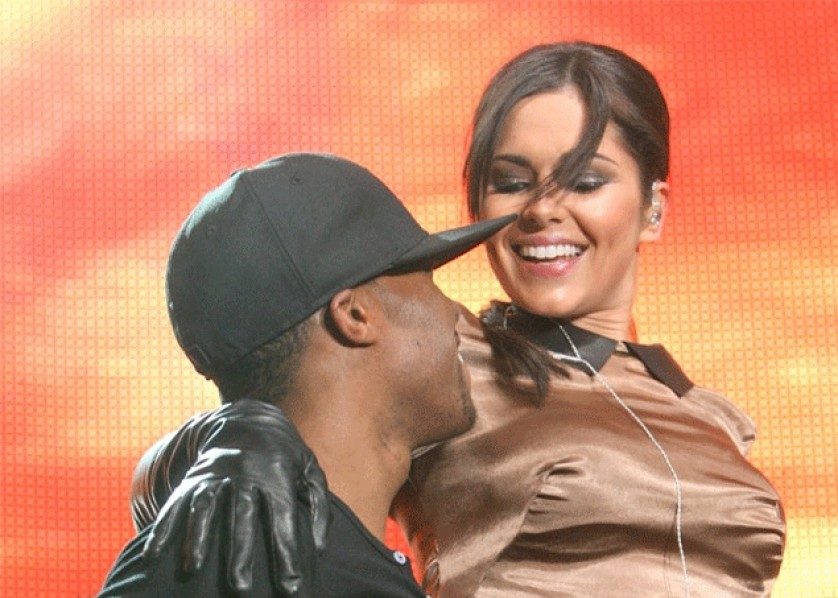 Cheryl Cole Tre Holloway Bang Showbiz November 2012