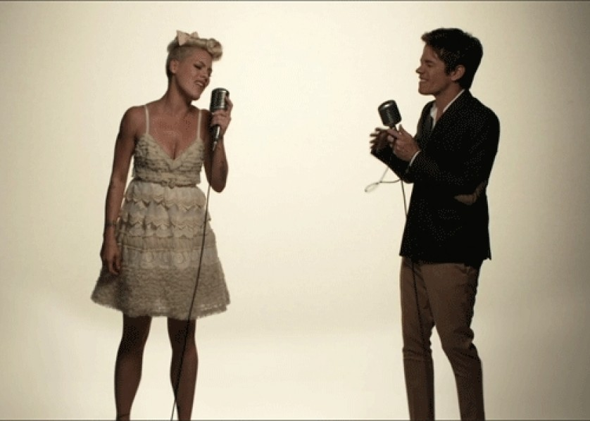 Pink Just Give Me A Reason video still nate