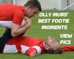 Olly Murs' best footie moments