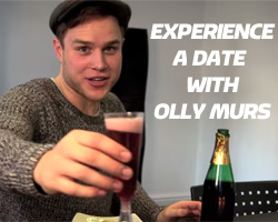 Experience a date with Olly Murs