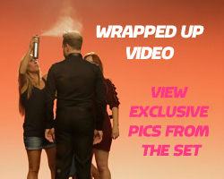 View behind the scenes photos from Wrapped Up